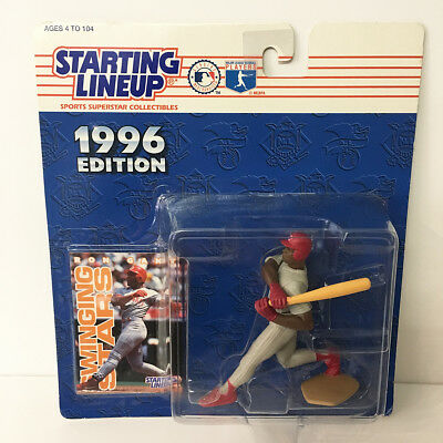 1996 Ron Gant Cincinnati Reds Starting Lineup Figure MLB Kenner NIP unopened NEW