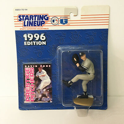 1996 David Cone NY Yankees Starting Lineup Figure MLB Kenner NIP unopened NEW