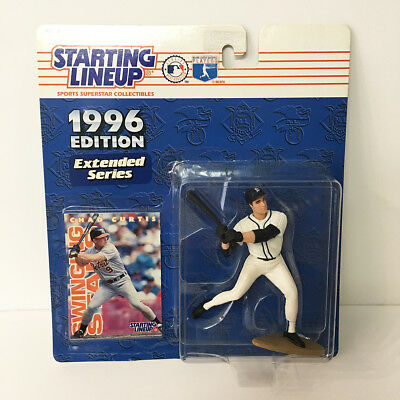 1996 Chad Curtis Detroit Tigers Starting Lineup Figure MLB Kenner NIP unopened
