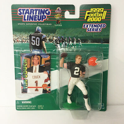 1999 2000 Tim Couch Starting Lineup Figure NFL Browns Kenner NIP