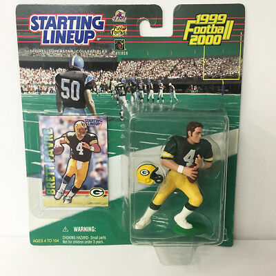 1999 2000 Brett Favre Starting Lineup Figure NFL Green Bay Packers Kenner NIP