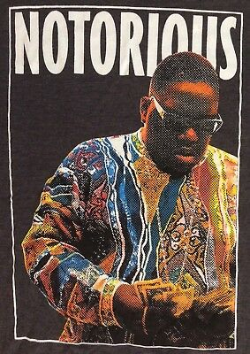 Notorious BIG Biggie Smalls T-shirt Sz- L Hip Hop Rap