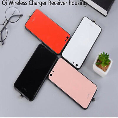 QI Wireless Charger Charging Receiver Case Protective For iPhone 6 6S 7 7 Plus