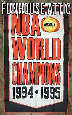Houston Rockets NBA Championship FLAG 3x5 ft Banner Vertical BRAND NEW