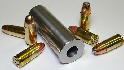 12GA to 9MM Luger Shotgun Adapter - Chamber Reducer - Stainless - Free Shipping