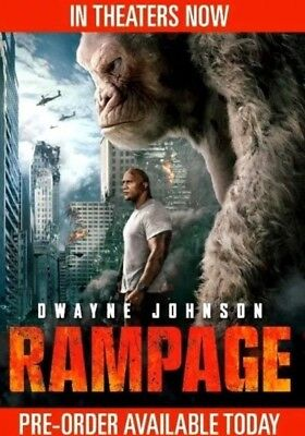 Rampage  DVD2018 NEWAction Adventure SFiction NOW SHIPPING