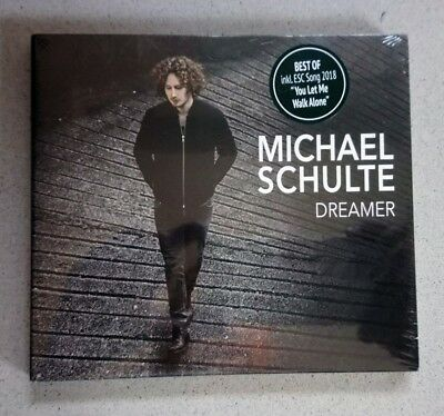 EUROVISION 2018 GERMANY ENTRY MICHAEL SCHULTE DREAMER PROMO CD - BRACELET