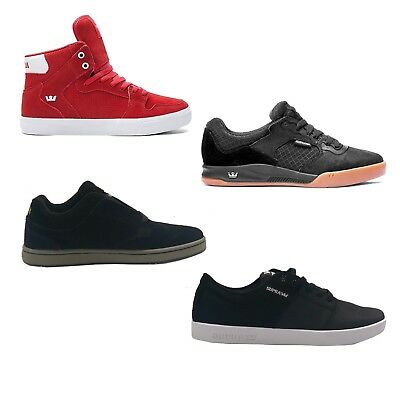 SUPRA Mens Stacks II Vaider Avex and Dixon Skate Shoes