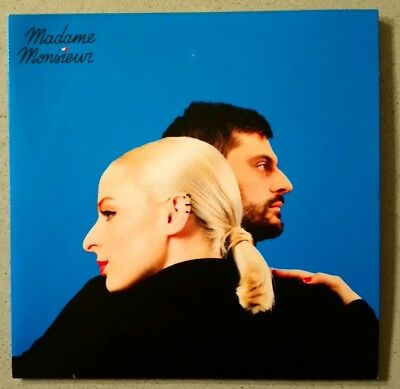 EUROVISION 2018 FRANCE MADAME MONSIEUR MERCY 6 TRACK PROMO CD-R