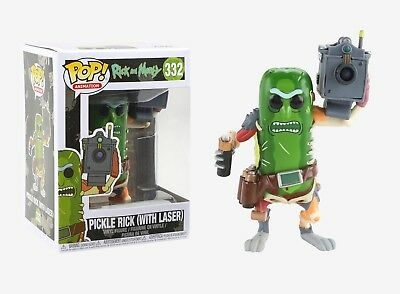 Funko Pop Animation Rick and Morty - Pickle Rick w Laser Vinyl Figure 27862