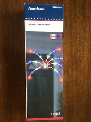 Americana LED 4th of July Fireworks Patriotic Hanging Light 1002 263 837