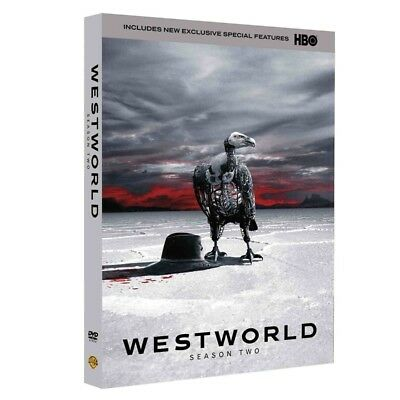 Westworld The Complete Second Season 2 Brand New DVD 3-Disc Set