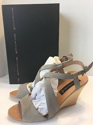 Women's Shoes New Steve Madden Wedge Suede Shoes Size 7-5