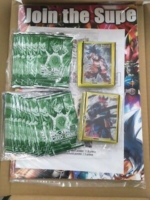 NEW Dragon Ball Super Tournament Kit vol 4 26 packs and sleeves FACTORY SEALED