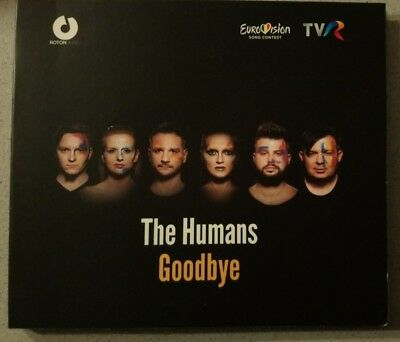 EUROVISION 2018 ROMANIA - THE HUMANS - GOODBYE PROMO CD SINGLE