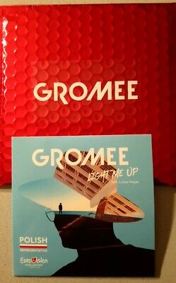 EUROVISION 2018 POLAND ENTRY GROMEE LIGHT ME UP PROMO CD