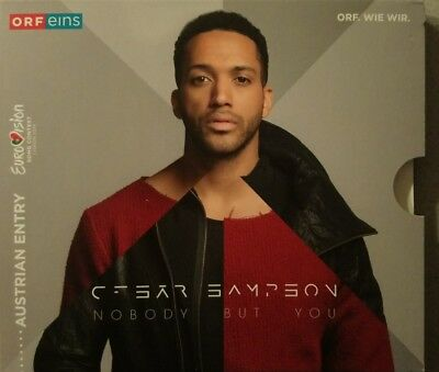 EUROVISION 2018 AUSTRIA ENTRY CESAR SAMPSON  NOBODY BUT You PROMO CD
