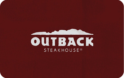 Outback Steakhouse Gift Card 100 - Work at Carrabas Bonefish Flemings too