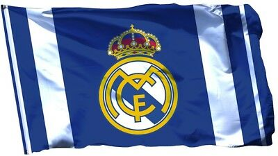 NEW Real Madrid Flag Banner 3x5 ft Soccer Blancos Bandera La Liga Bernabeu