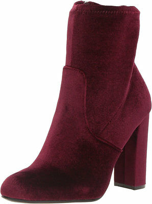 Steve Madden Edit Womens Burgundy Boot 8M