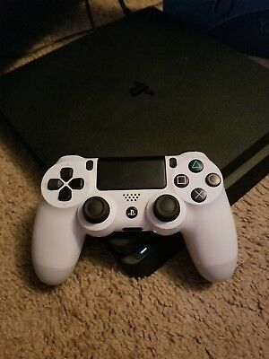Sony PlayStation 4 Slim 1TB Jet Black Console PS4 with Controller