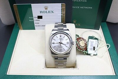 BRAND NEW Rolex Oyster Perpetual 116000 Stainless Steel Box - Papers