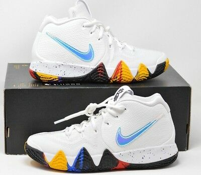 Nike Kyrie 4 GS IV NCAA March Madness Multi Kids Youth Sz 6Y GS AA2897-104