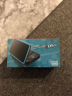 Nintendo 2DS XL BlackTurquoise Handheld System