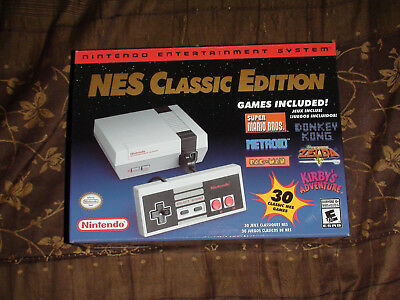 Nintendo NES Classic Edition USA Version Authentic Entertainment System NEW