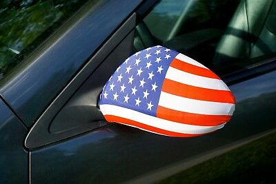 American Flag 4th of July Parade Party Stripes Removable Decor for CarsSedan