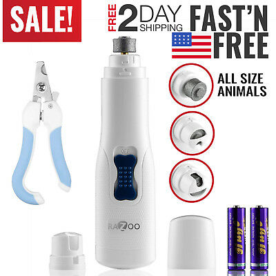 Dog Nail Grinder Clipper Trimmer for Pets Cats Professional Grooming Tool