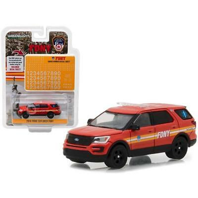 164 GreenLight HOBBY EXCLUSIVE FDNY 2016 Ford Interceptor Utility NIP