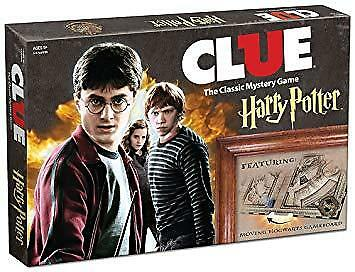 Harry Potter Clue - Brand New - Free Shipping