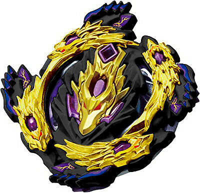 Special Edition BLACK GOLD Bloody Longinus  Luinor Burst BOOSTER Beyblade B-110