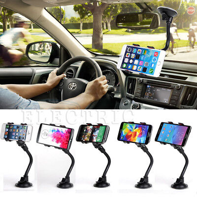 360° Stand Mount Holder Car Windshield For Mobile Cell Phone GPS iPhone Samsung