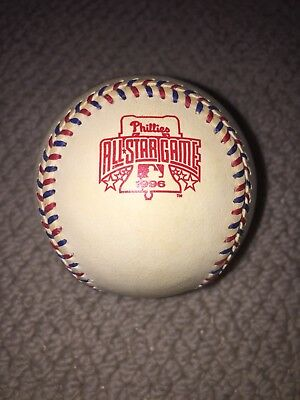 RAWLINGS OFFICIAL BALL 1996 ALL STAR GAME baseball Alex Rodriguez Mike Piazza