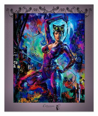 Blend Cota 16 x 20 Catwoman New York Comic Con 2018 Commemorative Print