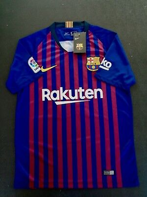 Messi FC Barcelona Jersey Home and Away all Sizes