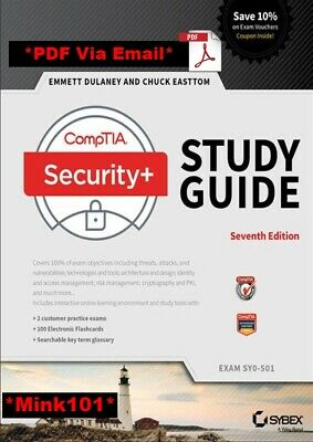 CompTIA Security- Study Guide Exam SY0-501 7th Edition - 2018
