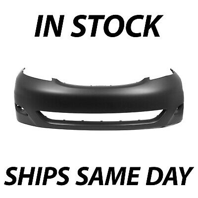 NEW Primered Front Bumper Fascia Cover for 2006-2010 Toyota Sienna Minivan 06-10