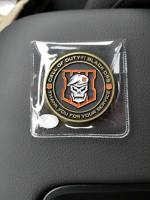 Call of Duty Black Ops 4 Collectors COIN