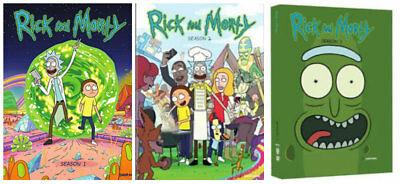 Rick and Morty The Complete Series Season 1- 3 1 2 3 DVD SET