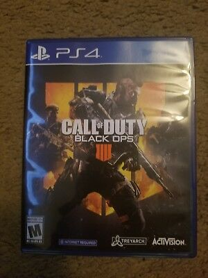 Call Of Duty Black Ops 4 - PlayStation 4 PS4
