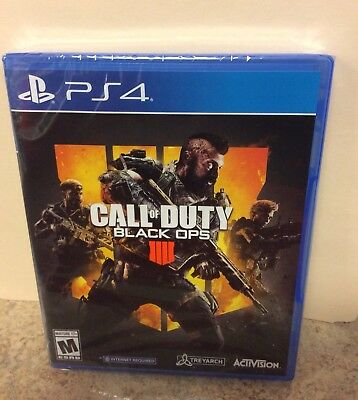 Call Of Duty Black Ops 4 factory Seal Brand new For Playstation 4