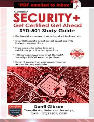 Comptia Security- Get Certified Get Ahead SY0-501 Study Guide - DIGITAL EDITION