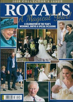 ROYALS MAGAZINE 2018 KATE MIDDLETON MEGHAN MARKLE ROYALS A Magical Year Magazine