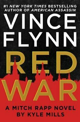 Red War by Vince Flynn Used