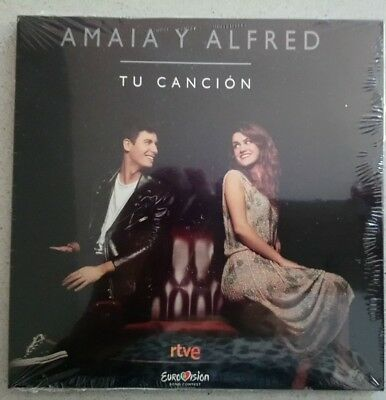 EUROVISION 2018 SPAIN ENTRY AMAIA Y ALFRED TU CANCION PROMO CD