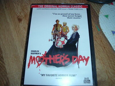 Mothers Day DVD GRINDHOUSE HORROR Beatrice Pons TIANA PIERCE NEKKID GLOBAL SHIP