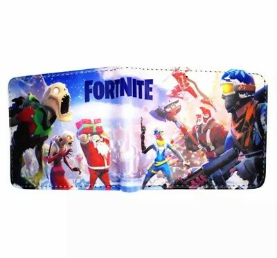 Fortnite Battle Royale Game Wallet Purse with Coin Pocket